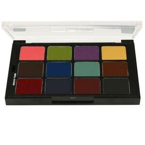 Ben Nye Studio Color, stp-41 Essential FX 12 color Palette refillable