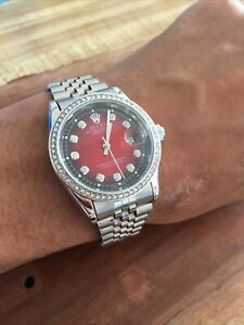 rolex Presidential Red Faced