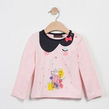 CATIMINI Tee Shirt ML layette fille été 2017 neuf & étiqueté CJ10053