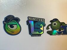 Monsters Unviersity Refrigerator Magnets Shiny