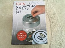 Electronic Coin Counting Money Jar