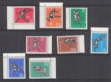 YUGOSLAVIA, 1962 Athletic Championships set of 8, marginal, mnh.