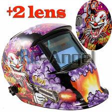 Clown pro Solar Welder Mask Auto-Darkening Welding Helmet Arc Tig mig grinding