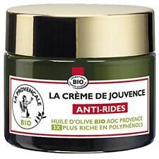 Crème Anti-Rides de Jouvence Soin du Visage Huile Olive Bio Peaux Sensibles