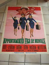 MANIFESTO,1963,APPUNTAMENTO FRA LE NUVOLE-COME FLY WITH ME,TIFFIN,HART,MALDEN