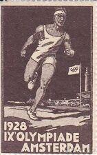 § ERINNOFILI OLIMPIADI - 1928 IX OLYMPIADE AMSTERDAM