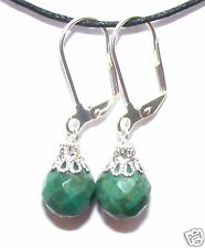 TURQUOISE FACETTED EARRINGS communication skills, heal