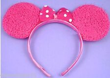Mouse Ears Pink Mouse Ears Womens Girls Minnie Mouse Costume Ears Fancy Dress