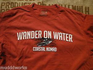 Kayaking T-shirt Coastal Nomad Caribbean Hobo SUP Surf wander on water river