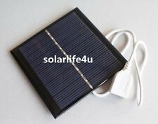 1W 5.5V USB Mini Solar Panel Module System Solar Epoxy Cells Charger Brand New A