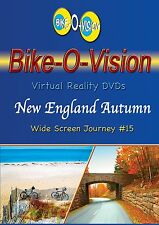"Bike-O-Vis​ion Cycling Video, ""New England Autumn"" Widescreen DVD"