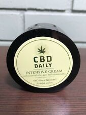 CBD Daily Intensive Cream THC Free CBD & Essential Oil For Muscle & Joint Pain