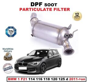 DPF DIESEL SOOT PARTICULATE FILTER for BMW 1 F21 114 116 118 120 125 d 2011->on
