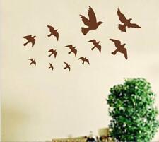 Wandtattoo Wandsticker Wandaufkleber Vögel Formation Wohnzimmer 100 x 170 W093