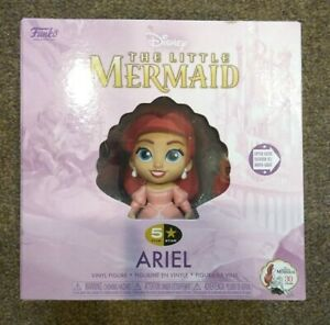 Funko 5 Star Disney Little Mermaid Ariel Flounder Vinyl Figurine Princess 2019