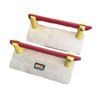 Brio CROSSING GATES (pair) Brio wooden train track items Compatible With Thomas