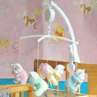 Baby Crib Mobile Bed Bell Toy Holder Arm Bracket + Wind-up(Without Music Box) US