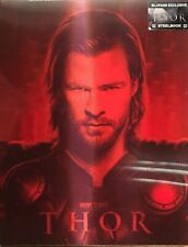 Thor Blu-ray 3D lenticular Steelbook - Disney - Marvel  - Blufans