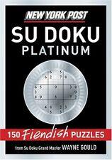 New York Post Platinum Su Doku by Wayne Gould