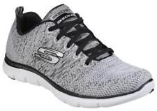 Scarpe da ginnastica Skechers bianchi per donna flex appeal