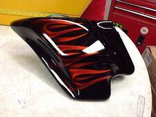 2008 OEM Harley Touring Street Glide Custom Paint Left Side Fairing Panel Flames