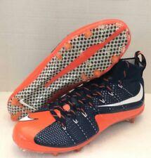 Nike Vapor Untouchable Football Cleat Broncos Navy Blue/Orange 707455-406 Sz-11
