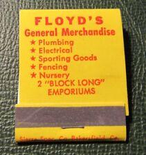 Matchbook - Floyd's General Store Bakersfield CA FULL