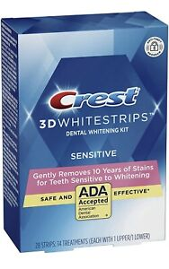 Crest 3D Whitestrips Sensitive Teeth Whitening Kit - 28 Strips