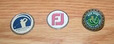 3 Metal Golf Ball Markers - Captain's Day 2004, Executive Golf & Leisure *Read*