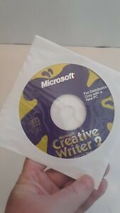 Microsoft Creative Writer 2 PC Software