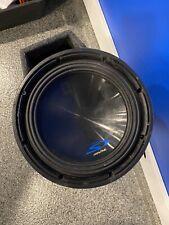 "New listing Alpine S-W10D4 10"" 1800 Watt Dual 4-Ohm Car Audio Subwoofer Dvc Sub Sw10D4"