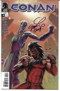 Conan 4 Signed Joseph Michael Linsner Autographed Dark Horse Combined Shipping