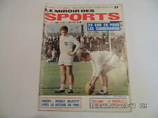 MIROIR DES SPORTS N°1171 16/02/1967 RUGBY CAMBERABERO    I44