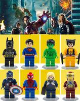 Lego figure 8pcs Marvel Super Heroes Avengers 3 Infinity War Action Figure LEGO