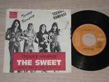 """THE SWEET - TEENAGE RAMPAGE - 45 GIRI 7"""" YUGOSLAVIA"""