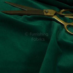 New Furnishing Soft Smooth Quality Velvet Upholstery Fabric Dark Green Colour