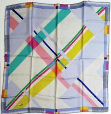 Silk twill scarf 90x90 cm./ 35x35 inches Aker