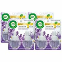 Air Wick Plug In Air Freshener Life Scented Oil Lavender & Chamomile 8 Refills