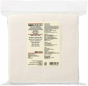 Authentic MUJI Premium Japanese Organic Cotton 100% Unbleached 180pads Japan