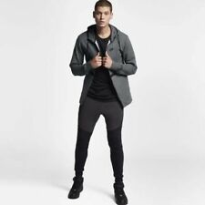 Nike ropa deportiva Air Force 1 hombre sudadera con capucha y cremallera L gris
