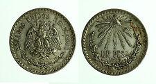 pci3626) ESTADOS UNIDOS MEXICANOS MEXICO MESSICO PESO 1923 SILVER AR