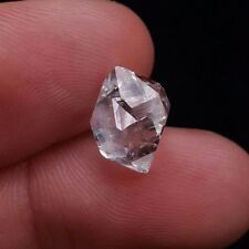 Authentic Herkimer Diamond Twin Quartz Crystal- Middleville NY- .93g/ 4.6ct
