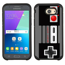 2-Layer Case for Samsung Galaxy J3 Prime/ J3 Emerge  - Game Controller