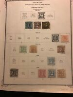 Thurn And Taxis Northern District Rare H $1760+ lot stamps Germany colonies 27