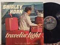 Shirley Horn Travelin Light EX ABC MONO Kenny Burrell Frank Wess Joe Newman