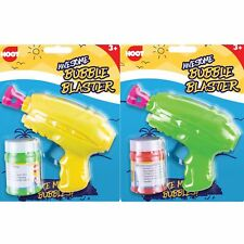 Bubble Gun Blaster With Bubble Solution Birthday Party Bubble Shooter Toy