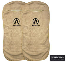 Seat Armour Universal Tan Towel Front Seat Covers for Acura -Pair