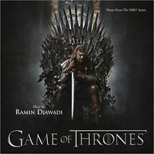 GAME OF THRONES (SCORE) SOUNDTRACK (Ramin Djawadi) (CD) Sealed