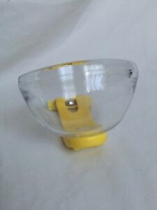 """Bird's Nest Feeder """"Luna"""" Parrot Pot For Cage Aviary - Yellow"""