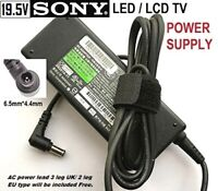 19.5V Power Supply Adapter for SONY TV, KDL-42W658A, 58/77